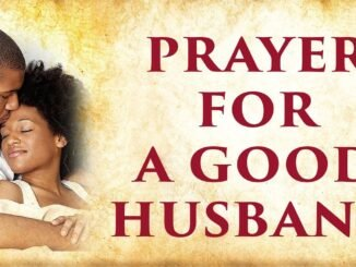 A Prayer For Husband